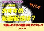 アニメ見放題☆有料でおすすめの動画配信サービスはどれ?